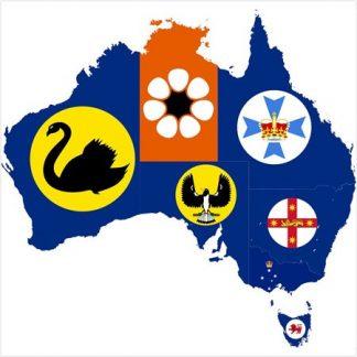 Australian State & Territory Flags